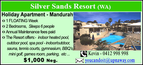 Silver Sands Resort - $1000