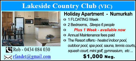 Lakeside Country Club - $1000