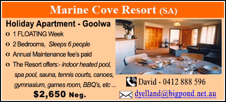 Marine Cove Resort - $2650