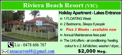 Riviera Beach Resort - $2000
