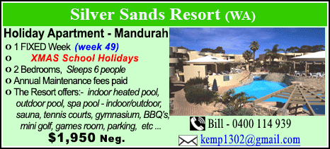 Silver Sands Resort - $1950