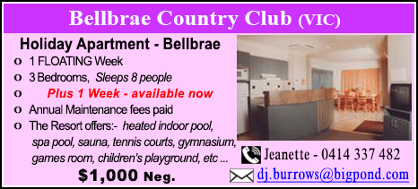 Bellbrae County Club - $1000