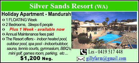 Silver Sands Resort - $1200