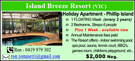 Island Breeze Resort - $2000