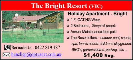 The Bright Resort - $1400