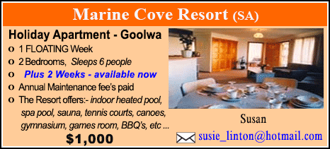 Marine Cove Resort - $1000