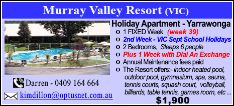 Murray Valley Resort - $2750