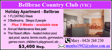 Bellbrae County Club - $3400