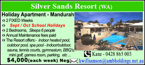 Silver Sands Resort - $4000