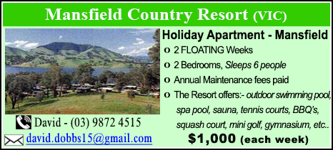 Mansfield Country Resort - $1000
