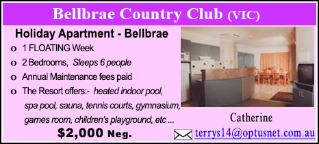 Bellbrae County Club - $2000