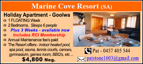 Marine Cove Resort - $4800
