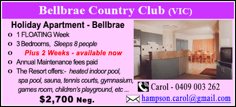 Bellbrae County Club - $2700