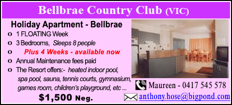 Bellbrae County Club - $1500