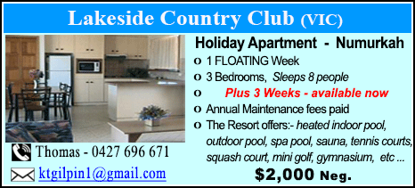 Lakeside Country Club - $2000