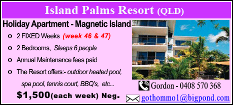 Island Palms Resort - $1500