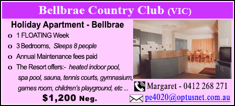 Bellbrae County Club - $1200