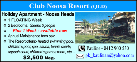 Club Noosa Resort - $2500