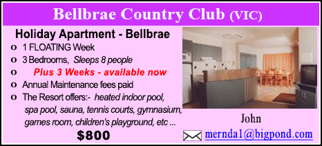 Bellbrae County Club - $800