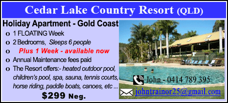 Cedar Lake Country Resort - $299