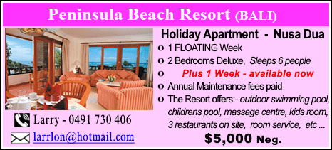 Peninsula Beach Resort - $5000