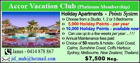 Accor Vacation Club - $7500