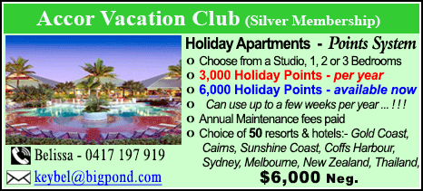 Accor Vacation Club - $6000