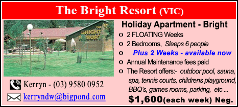 The Bright Resort - $1600