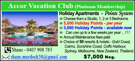 Accor Vacation Club - $7000