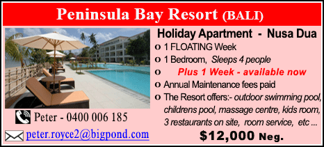 Peninsula Bay Resort - $12000