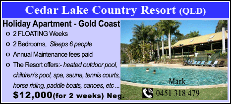 Cedar Lake Country Resort - $12000