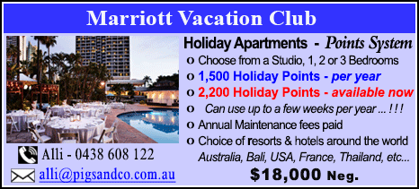 Marriott Vacation Club - $18000
