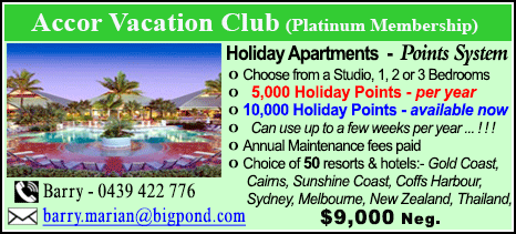 Accor Vacation Club - $9000