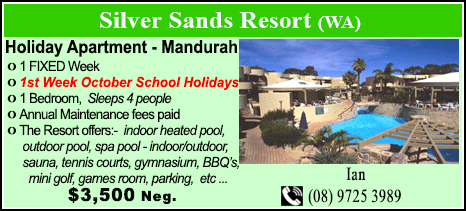 Silver Sands Resort - $3500