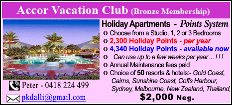 Accor Vacation Club - $2000