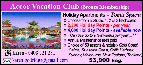 Accor Vacation Club - $3900