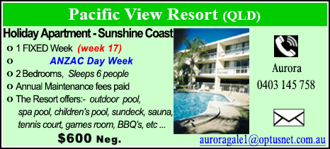 Pacific View Resort - $600