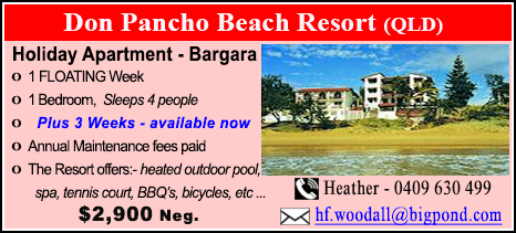 Don Pancho Beach Resort - $2900