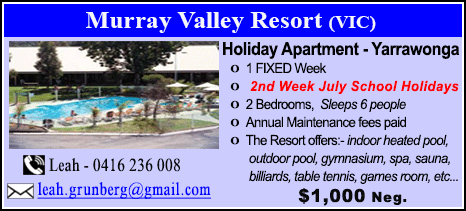 Murray Valley Resort - $1000