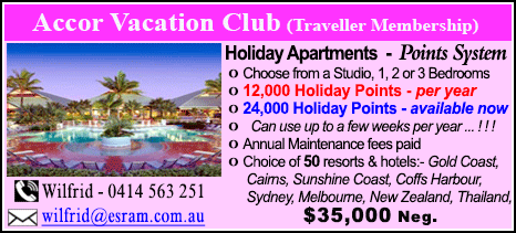 Accor Vacation Club - $35000