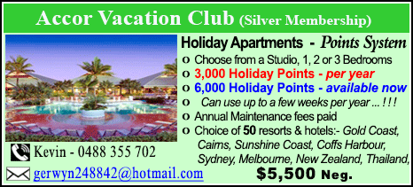 Accor Vacation Club - $5500