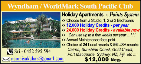 Wyndham Vacation Resorts - $12000