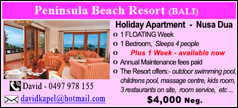 Peninsula Beach Resort - $4000