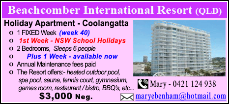 Beachcomber International Resort - $3000