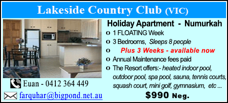 Lakeside Country Club - $990