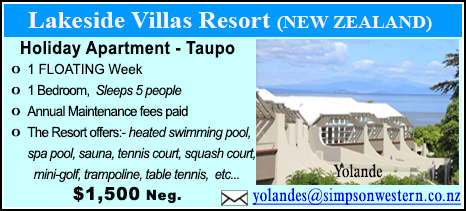 Lakeside Villas Resort - $1500