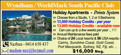 Wyndham Vacation Resorts - $16000