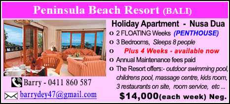 Peninsula Beach Resort - $14000