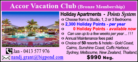 Accor Vacation Club - $990