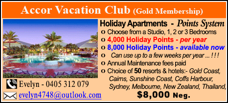 Accor Vacation Club - $8000